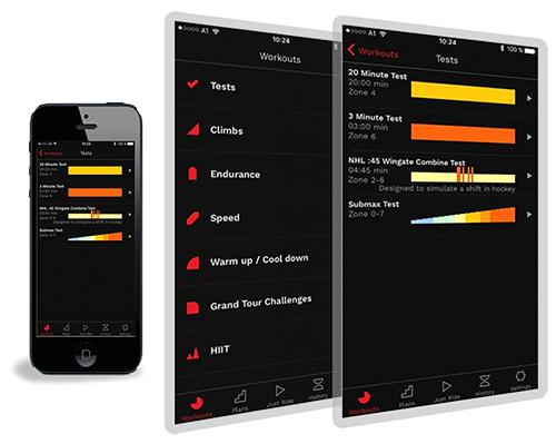 Wattbike-App Hub 6